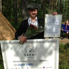 Sápmi Awards 2013 winner